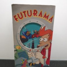 Series de TV: FUTURAMA TEMPORADA 1. VHS. COMPLETA. (ENVÍO 4,31€). Lote 224527913
