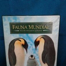 Series de TV: PACK VHS FELIX RODRÍGUEZ DE LA FUENTE, FAUNA MUNDIAL. Lote 224556216