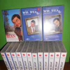 Séries de TV: MR. BEAN - COLECCION CASI COMPLETA 14 VHS SOLO FALTA 1 + MR. BEAN CINE CATASTROFICO DISPONGO MAS VHS. Lote 227831332