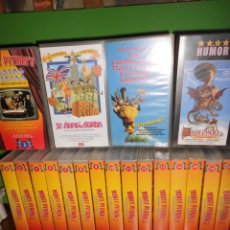 Séries de TV: FLYING CIRCUS 16 VHS + SE ARMO LA GORDA + BESTIA DEL REINO + CABALLEROS MESA CUADRADA MONTY PYTHON. Lote 228021467