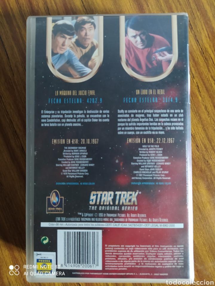 Series de TV: Star Trek, the original series, 2.8, VHS, 2 capítulos. - Foto 2 - 231980740