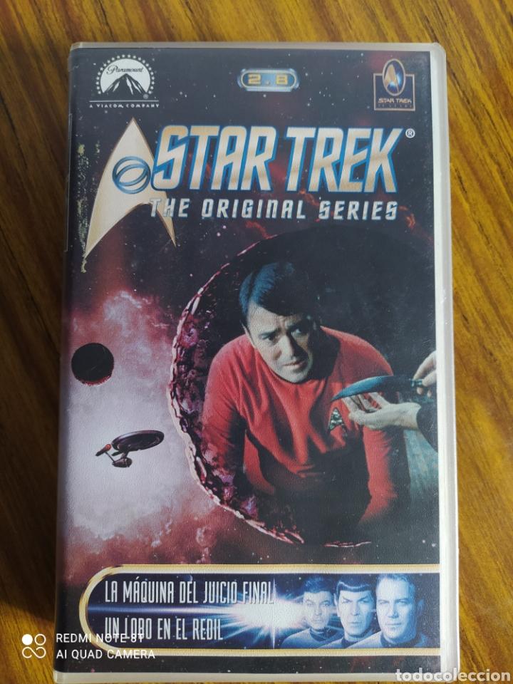 STAR TREK, THE ORIGINAL SERIES, 2.8, VHS, 2 CAPÍTULOS. (Series TV en VHS )