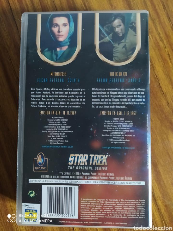 Series de TV: Star Trek, the original series, 2.6, VHS, 2 capítulos. - Foto 2 - 231981895