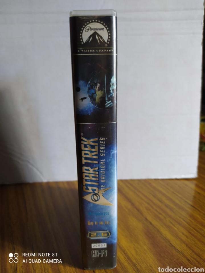 Series de TV: Star Trek, the original series, 2.6, VHS, 2 capítulos. - Foto 3 - 231981895