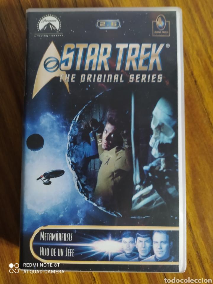 STAR TREK, THE ORIGINAL SERIES, 2.6, VHS, 2 CAPÍTULOS. (Series TV en VHS )