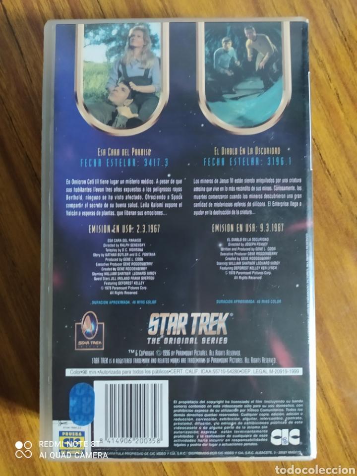Series de TV: Star Trek, the original series, 2.3, VHS, 2 capítulos. - Foto 2 - 231983690