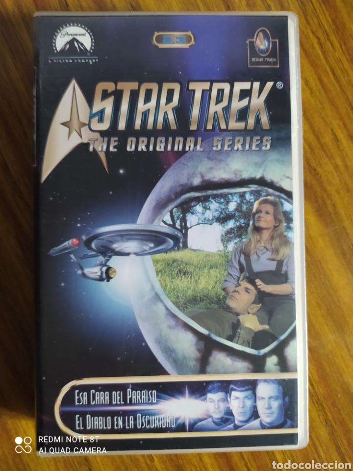 STAR TREK, THE ORIGINAL SERIES, 2.3, VHS, 2 CAPÍTULOS. (Series TV en VHS )