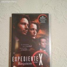 Séries de TV: CINTA VHS EXPEDIENTE X REQUIEM COLECCION EPISODIOS CLAVE THE X FILES. Lote 234019715