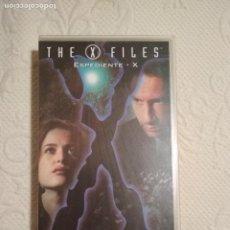 Séries de TV: CINTA VHS EXPEDIENTE X PACIENTE X COLECCION EPISODIOS CLAVE THE X FILES. Lote 234019835