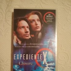 Séries de TV: CINTA VHS EXPEDIENTE X CLOSURE COLECCION EPISODIOS CLAVE THE X FILES. Lote 234023635
