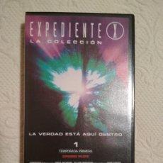 Séries de TV: 25 CINTAS VHS EXPEDIENTE X LA COLECCION TEMPORADA 1 THE X FILES + CINTA LA PELICULA. Lote 234024285