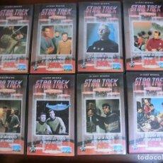 Series de TV: LOTE 8 VHS- STAR TREK - SERIE ORIGINAL - 16 CAPÍTULOS - PLANETA DE AGOSTINI - AÑOS 90. Lote 234766450