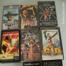 Series de TV: 8 PELÍCULAS EN VÍDEO VHS. Lote 235481705