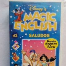 Series de TV: LOTE 11 CINTAS VHS MAGIC ENGLISH DISNEY. Lote 235684430