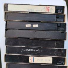 Series de TV: LOTE 10 CINTAS VHS REGRABABLES. Lote 235885150