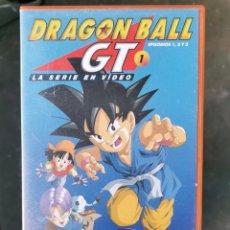 Series de TV: LOTE 10 CINTAS DE VIDEO VHS DRAGON BALL GT ANIME. Lote 235912140