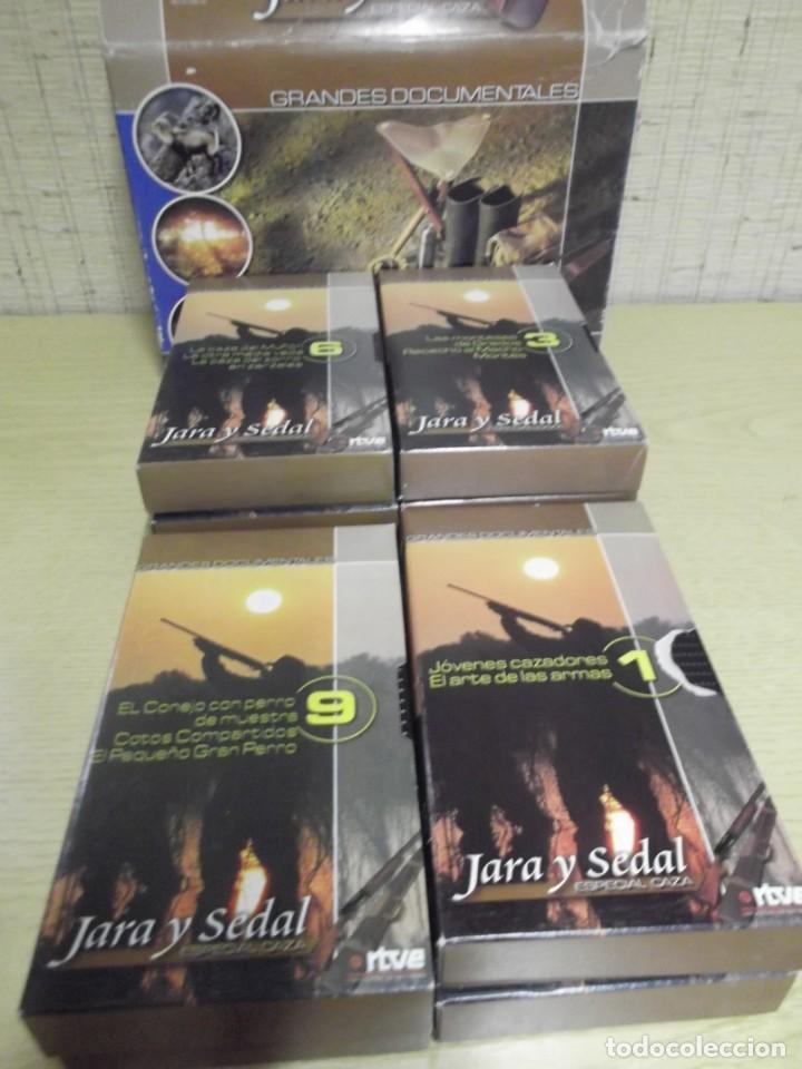 JARA Y SEDAL,ESPECIAL CAZA EN VHS (Series TV en VHS )