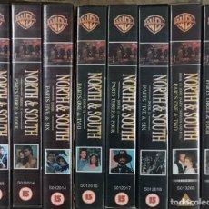 Series de TV: LOTE 8 VHS NORTE SUR - LIBRO 1 2 3 JAMES READ PATRICK SWAYZE - DRAMA VERSION ORIGINAL SERIE TV 85. Lote 236058475