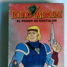 Series de TV: DINO RIDERS EL PODER DE KROTALON MARVEL VHS. Lote 236073090