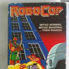 Series de TV: ROBOCOP LA NOCHE DEL ARQUERO VHS MARVEL. Lote 236073620