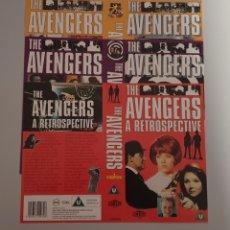 Series de TV: CARATULA VHS - SERIE TV THE AVENGERS LOS VENGADORES. Lote 236373420