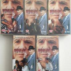 Series de TV: JUNCAL - SERIE TELEVISION COMPLETA - 5 VHS - RTVE - FRANCISCO RABAL. Lote 238582885
