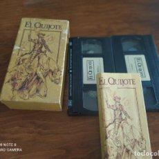 Series de TV: JML EDICION ESPECIAL CENTRAL HISPANO EL QUIJOTE 2 VHS VER FOTOS.. Lote 240062005
