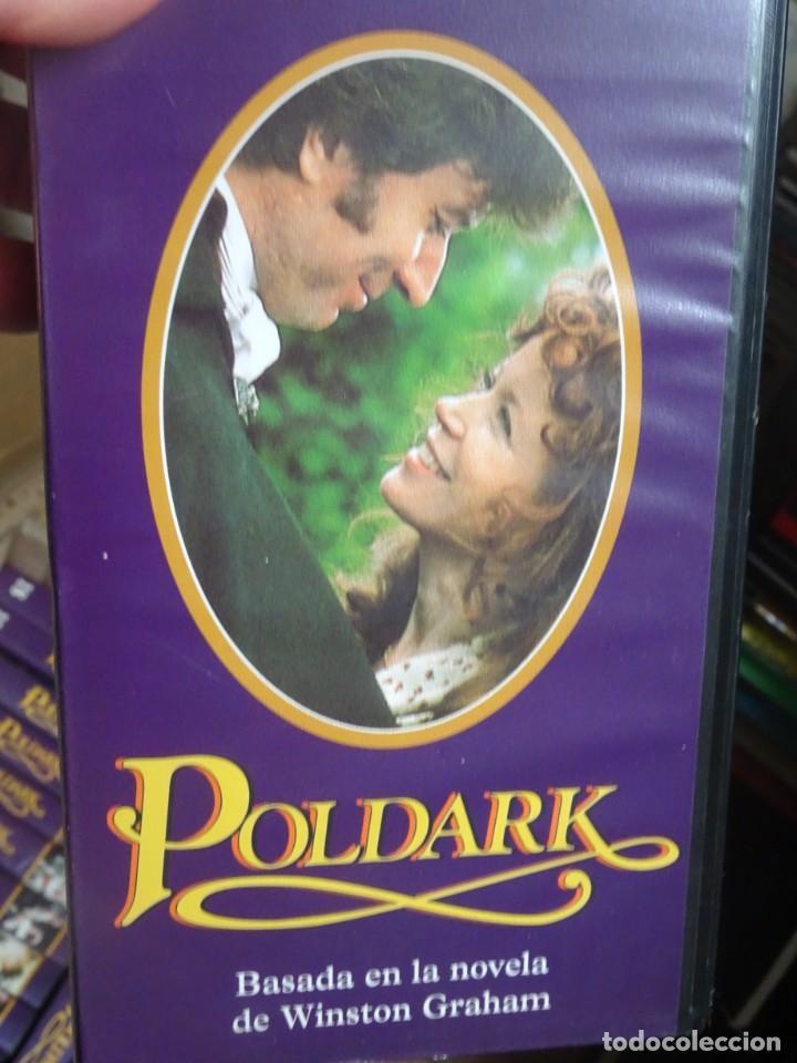 Series de TV: 29 VHS DE LA SERIE POLDARK, COMPLETA , VER FOTOS - Foto 2 - 240599815