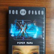 Series de TV: EXPEDIENTE X VHS AUTOEDITADO - DOBLE CAPÍTULO PIPER MARU Y APROCRYPHA GRABACIÓN DE TELECINCO. Lote 244826545