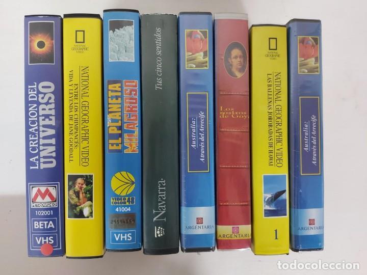 DOCUMENTALES EN VHS (Series TV en VHS )