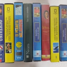 Series de TV: DOCUMENTALES EN VHS. Lote 245003575