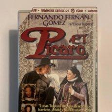 Series de TV: EL PICARO VHS - SERIE COMPLETA RTVE. Lote 245389255