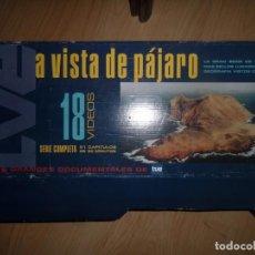 Series de TV: A VISTA DE PAJARO - COLECCION COMPLETA / 18 CINTAS VHS - NUEVO / PRECINTADO - DISPONGO DE MAS VHS. Lote 248585065