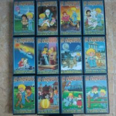Series de TV: 13 VHS LAS AVENTURAS DE EL PRINCIPITO (1978) SERIE DE TELEVISIÓN COMPLETA. COMO NUEVA. Lote 254587575