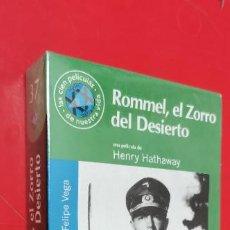 Series de TV: VHS ROMMEL, EL ZORRO DEL DESIERTO - HENRY HATHAWAY - EL MUNDO Nº 37. PRECINTADA. Lote 258018845