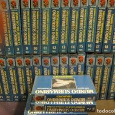 Series de TV: EL MUNDO SUBMARINO - JACQUES COUSTEAU - SERIE COMPLETA 36 VHS. Lote 262668990