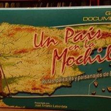 Series de TV: 16 VHS UN PAIS EN LA MOCHILA - JOSE ANTONIO LABORDETA. Lote 263891925