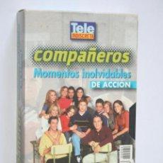 Series de TV: COMPAÑEROS: MOMENTOS INOLVIDABLES DE ACCIÓN * VHS CINE SERIE TV (TP ORO) * TELE INDISCRETA (1999). Lote 265932108