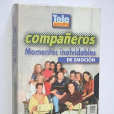 Series de TV: COMPAÑEROS: MOMENTOS INOLVIDABLES DE EMOCIÓN * VHS CINE SERIE TV (TP ORO) * TELE INDISCRETA (1999). Lote 265932233
