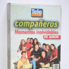 Series de TV: COMPAÑEROS: MOMENTOS INOLVIDABLES DE AMOR * VHS CINE SERIE TV (TP ORO) * TELE INDISCRETA (1999). Lote 265932523