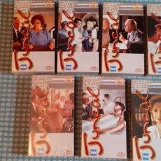 Series de TV: SERIE DE TELEVISIÓN,JUNCAL,VHS, 7 CINTAS,2 DE ELLAS PRECINTADAS. Lote 267391744