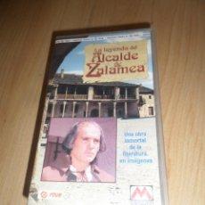 Series de TV: LA LEYENDA DEL ALCALDE DE ZALAMEA - PACO RABAL - 2 CINTAS VHS - DISPONGO DE MAS VHS. Lote 268293114