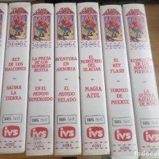 Series de TV: FLASH GORDON - LOTE DE 7 CINTAS VHS - DIBUJOS ANIMADOS - DISPONGO DE MAS VHS. Lote 268297854