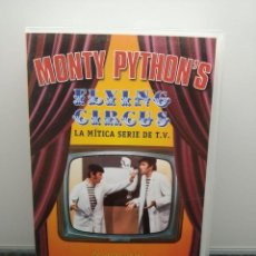 Series de TV: MONTY PYTHON'S FLYING CIRCUS 1. LA MÍTICA SERIE DE T.V. 2 PRIMEROS CAPÍTULOS. V.O. SUBTITULADO. VHS.. Lote 269502768