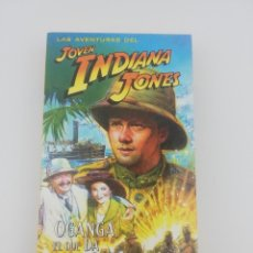 Series de TV: LAS AVENTURAS DEL JOVEN INDIANA JONES CAPITULO 11 VHS. Lote 269731648