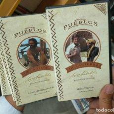 Series de TV: COLECCION PUEBLOS DE LA TIERRA..MIGUEL DE LA CUADRA SALCEDO..COMPLETA...15 VHS.. PRECINTADOS. Lote 271591453