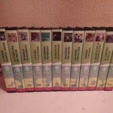 Series de TV: DESAFÍOS DE LA VIDA, 8 LIBROS Y 37 VHS. Lote 275544743