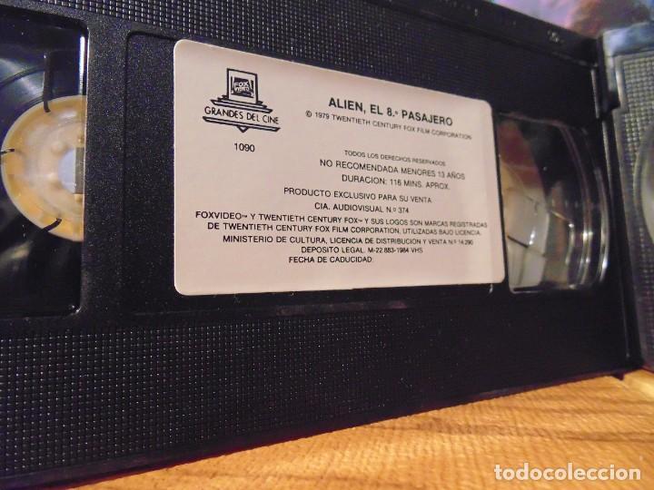 Series de TV: Vhs Edición Especial 3 vhs * Alien el 8º Pasajero + Aliens el Regreso + Como se hizo Alien 3 * - Foto 2 - 275941843