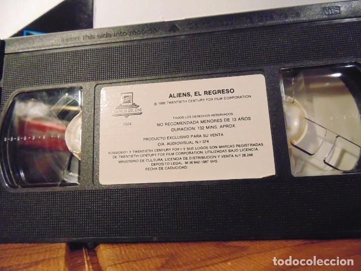 Series de TV: Vhs Edición Especial 3 vhs * Alien el 8º Pasajero + Aliens el Regreso + Como se hizo Alien 3 * - Foto 4 - 275941843