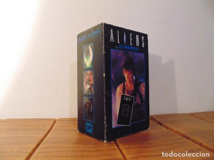 Series de TV: Vhs Edición Especial 3 vhs * Alien el 8º Pasajero + Aliens el Regreso + Como se hizo Alien 3 * - Foto 5 - 275941843